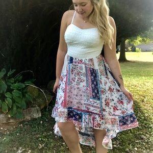AS U Wish High Low Lace Dress
